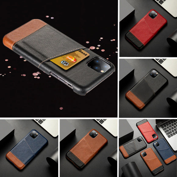 Luxury Retro Leather Card Holder Wallet Case For iPhone 12 Series
