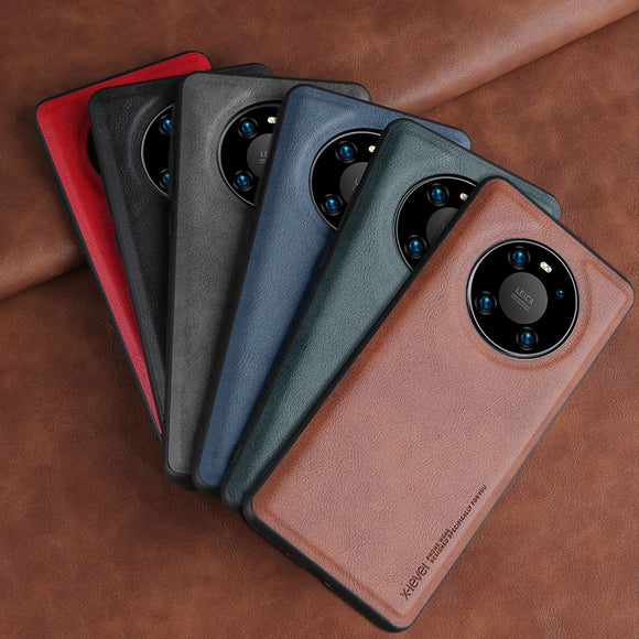 Soft Silicone Edge Shockproof Leather Case For Huawei Mate 40 Series