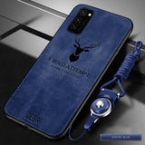 Soft Silicone Hard Fabric Slim Protective Back Cover Case For Samsung Galaxy Note 20 Series