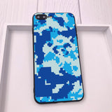 Fashion Army Camouflage Soft Silicone TPU Half-wrapped Case For iPhone 11 Series