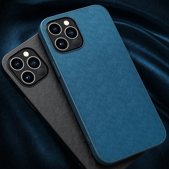 PU Leather Shockproof Case for iPhone 12 Series