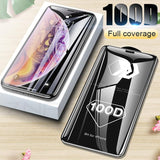 100D protective glass screen protector for iPhone X XS Max XR 6 6S 7 8 plus