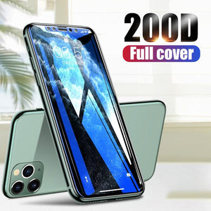 200D Full Cover Tempered Screen Protector iPhone 11 Xs Max XR