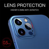 Ultra Thin PP Clear Shockproof Matte Case For iPhone 12 11 Pro Series