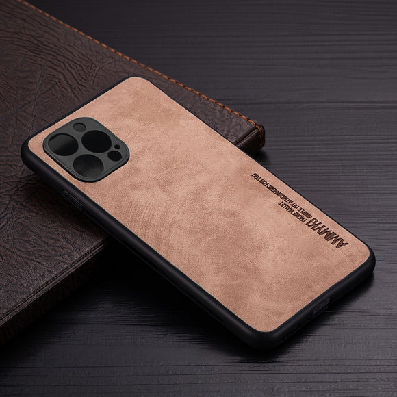 IrregularTexture Leather Case for IPhone 12 Series