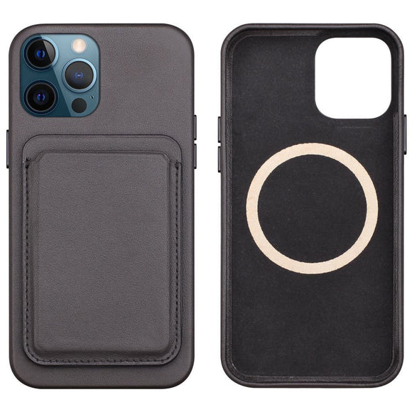 Original Leather Magnetic Wallet Case with Card Holder for iPhone 12 Pro/12Mini/12 Pro Max
