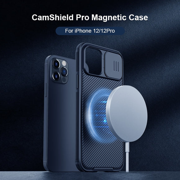 Magnetic Case For iPhone 12 Pro Max 12 Mini Case For Magsafe Wireless Charging