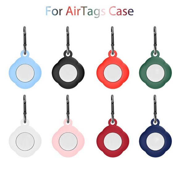 Shockproof Anti scratch Silicone Protector Cover With Keychain For AirTags