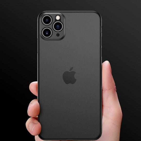 Ultra thin Matte Transparent Waterproof Cover Shell Wear Resistant Case for iPhone 11 Series