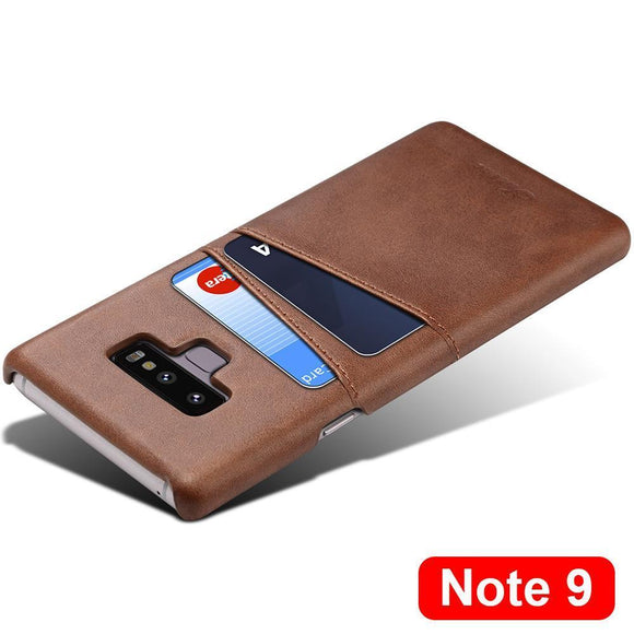 Brand New For Galaxy Note 9 Leather Case Ultra Thin
