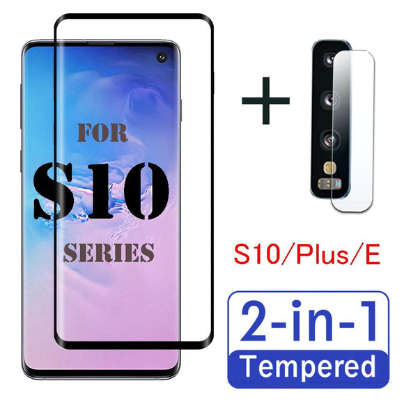 2 in 1 Screen + Lens Protector for Samsung S10 Series