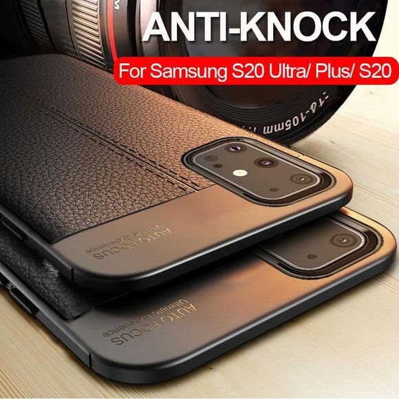 Luxury Silicone Heavy Duty Protection Bumper Case Cover for Samsung Galaxy S20 S20 Plus