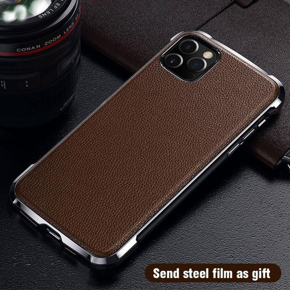 Ultra Thin Soft TPU Leather Case 360 Full Protective Dirt Resistant Shockproof For iPhone 11 Pro Max