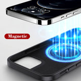Official Original Support Wireless Charging Magsafe Phone Case For For iPhone 12 Pro Max
