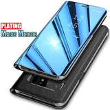 Luxury Magic Mirror Smart View Case For Samsung Galaxy Note 8