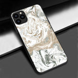 Fashion Marble Granite Soft Silicone TPU Anti-knock Case For iPhone XS 11 Pro Max