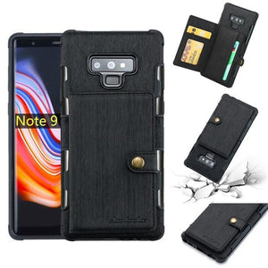 For Samsung Note 9 Case PU Leather Flip Case With Pocket