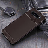Soft On Luxury Silicone Plain Matte Silicon Half-wrapped Case For Samsung Galaxy S10