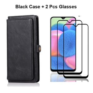Removal Magnetic Stand Flip Wallet Leather Case for Samsung S20 & Note 20 Series