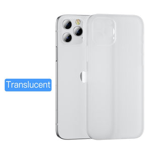 Camera Len Full Cover Shockproof Ultra Thin Matte Case For iPhone 12 & 11 Series