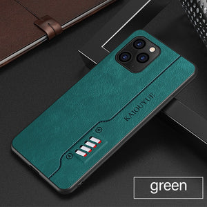 Luxury Ultra thin Cassette Leather Phone Case For iPhone 12 Series