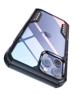 Shockproof Drop Protection Cover Vanguard Armor Design Case for iPhone 12 Series