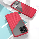 Silicone Splicing Shockproof Case for iPhone 12 & 11 Series