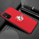 Car Magnetic Stand Ring Back Cover for Samsung Galaxy S20 Series