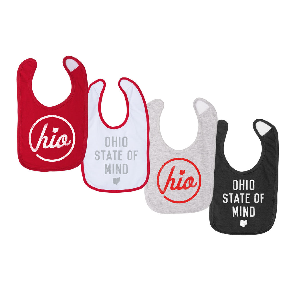 OHIO 4-PACK PREMIUM INFANT BIB