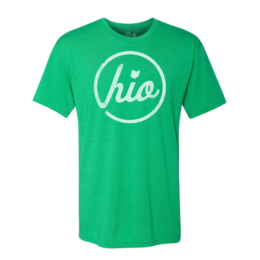 Circle Ohio - T-Shirt / Green