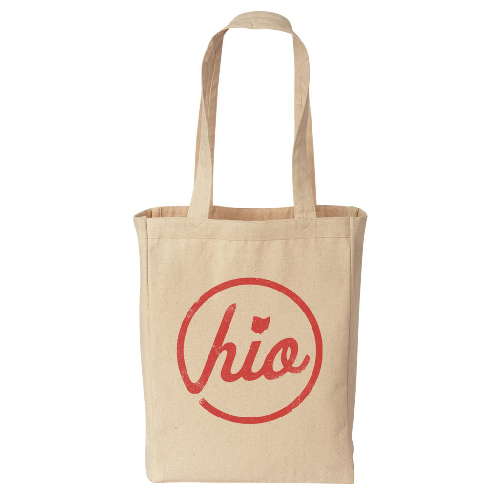 Circle Ohio - Tote Bag / Natural