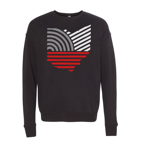 OHIO VINTAGE CREWNECK / BLACK