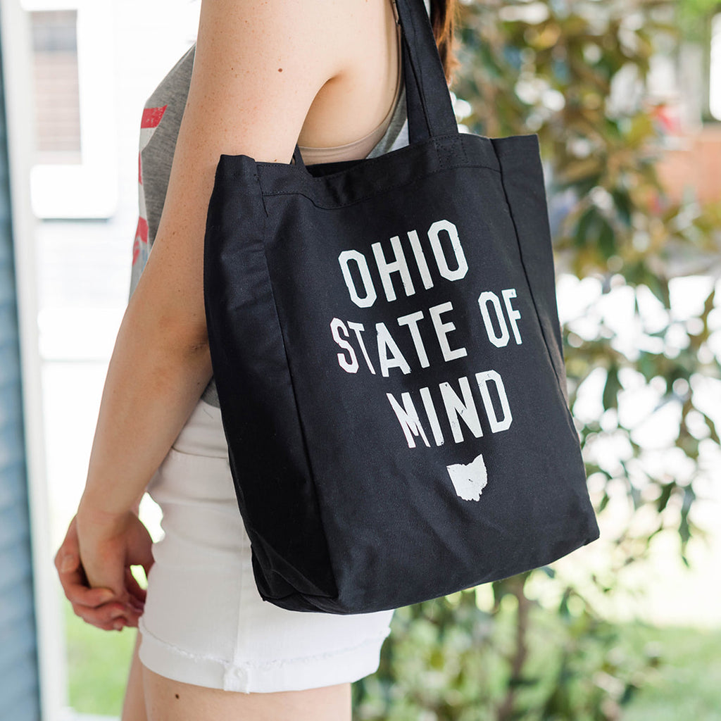 OHIO STATE OF MIND / TOTE BAG - BLACK