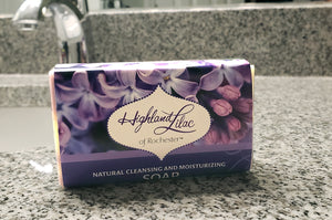 Lilac Olive Oil Bar Soap