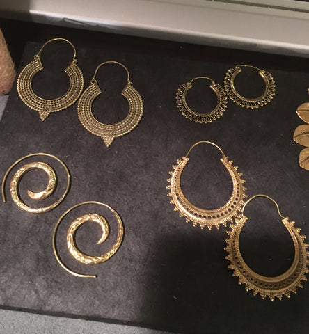 Indi Hoop Earrings