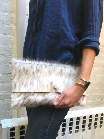 Salt & Pepper Clutch