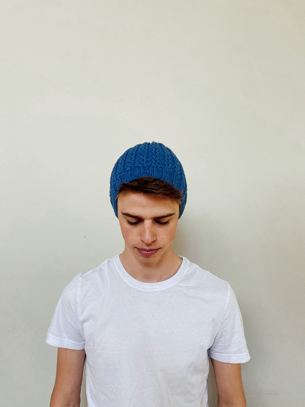 Eyelet Beanie - Yak Wool Hat -  The Yak Wool Company