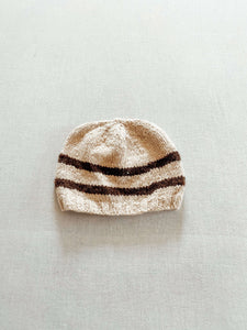 Striped Hat - Yak Wool Handspun Hat -  The Yak Wool Company
