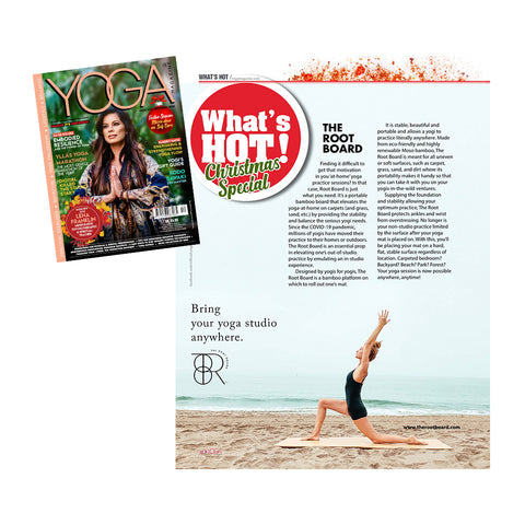 Yoga Magazine December 2020 What's Hot!