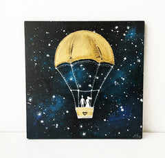 Love Flying in Space - customizable wedding present