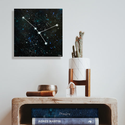 Cancer Constellation - Acrylic On Wood