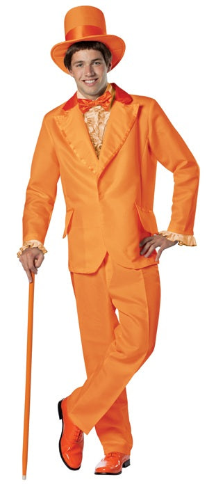 Dumb and Dumber Orange Lloyd Tuxedo Costume Standard