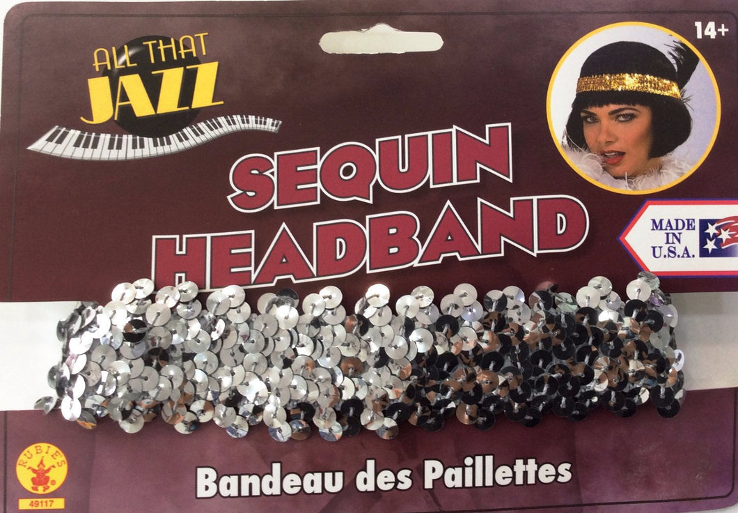 20's Flapper Headband (Various Colours)