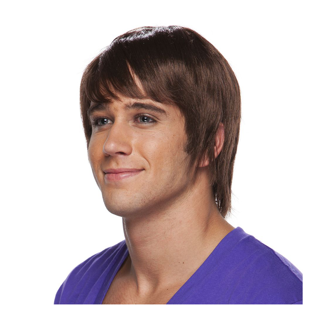 Surfer Dude Brown Wig