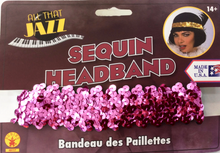 Load image into Gallery viewer, 20's Flapper Headband (Various Colours)