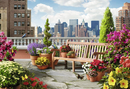 Rooftop Garden 500pc puzzle