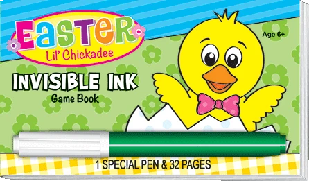 Easter Invisible Ink Book