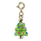 Charm It !  Gold Christmas Tree Charm