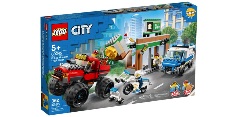 Police Monster Truck Heist - City