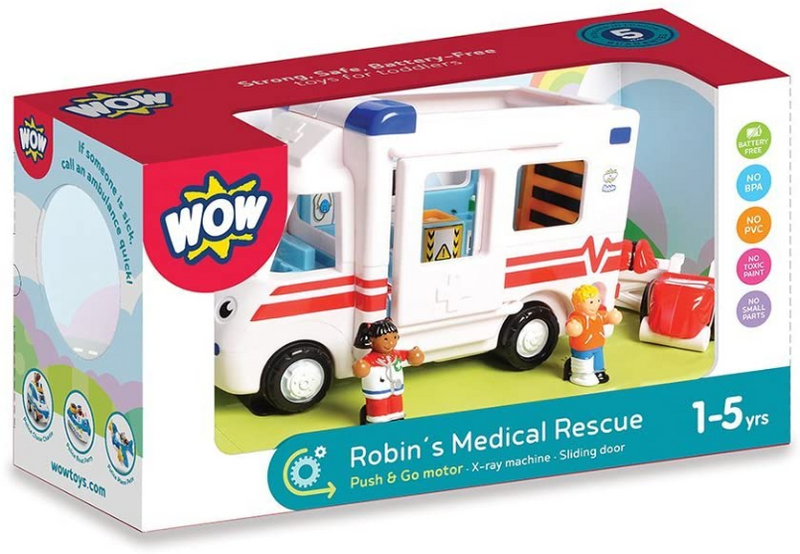 Wow Robins Medical Rescue